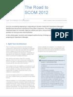 Road to SCOM 2012