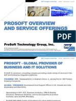 ProSoft's Corporate Profile v1.2