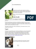 Alimentos Para Aumentar El Sistema Inmunologico