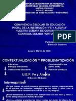 Defensa Metodología CONVIVENCIA BLANCA QUINTERO