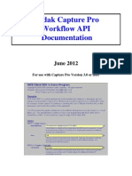 Kodak CapPro Software Workflow API-June2012