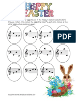 Easter Egg Piano Hunt