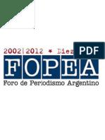 Carta de FOPEA a Miguel Galuccio