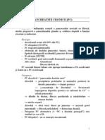Pancreatite cronice