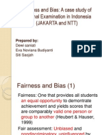 Fairness and Bias