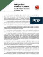 Ideologia de La Revolucion Cubana