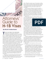 Attorneys' Guide to H-1B Visas
