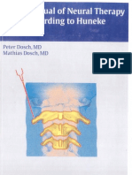 Manual of Neural Therpy to Huneke