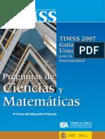 timms ciencias y matematicas 4º básico