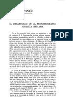 A Garcia Gallo El Desarrollo de La Historiografia Indiana
