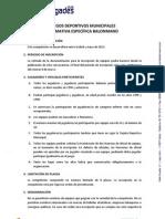 Normativa Especifica JDM Senior