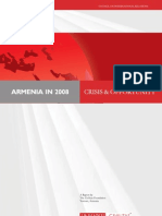 Armenia in 2008 Crisis and Opportunity ENG