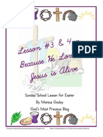 Easter Lesson 3 & 4 - Because He Loves - Jesus is Alive