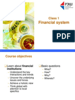 1 Financial System