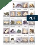 Lista de Minerales - Joseph