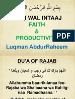 Rajab Recipe