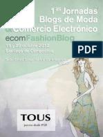 REVISTA ecomFashionBlog - 1as Jornadas Blogs de Moda y Comercio Electronico.pdf
