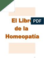 El Libro de La Homeopatia