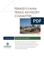 Pennsylvania Trails Advisory Committee 2012 Report