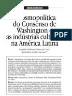 Consenso de Washington e Industrias Culturales Portugues