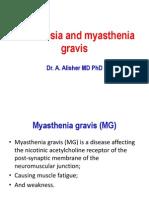 Anesthesia and Myasthenia Gravis2012