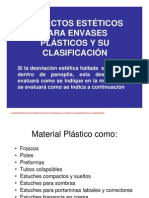 Manual de Defectos Estéticos para envases plásticos