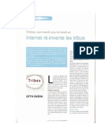 """Parution Veille Magazine """"Internet ré-invente Les Tribus"""" - Luc Bretones"""