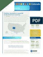 Colorado Outdoor Recreation Economy OIA Feb 2013