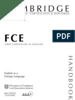 FCE Handbook