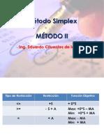 Método Simplex II