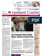 Ypsilanti Courier front page March 28, 2013