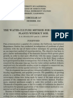 Water Culture