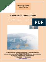 INVERSORES Y DEPOSITANTES (Es) INVESTORS AND DEPOSITORS (Es) INBERTSOREAK ETA GORDAILUGILEAK (Es)