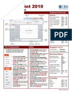 PowerPoint 2010 - CBS Quick Reference Guide