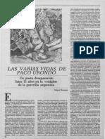 Bonasso Urondo La Cultura Mexico 1316-1987