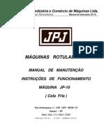 Manual Jp 10 Fria