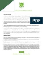 Minuta Ley de Superintendencia - Directiva FEUC 2013