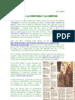 El Ateo, La Cristiana y La Libertad