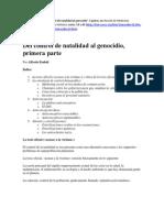 Embid, Alfredo - Del Control de Natalidad Al Genocidio (2 Partes)