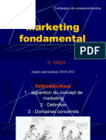 Cours de Marketing