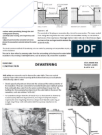 Dewatering - An Overview