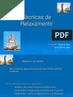 Tecnicas de Relaxamento