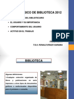 1. Curso básico de biblioteca 2012