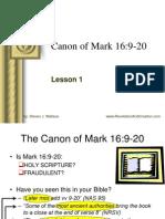 Canon of Mark 16