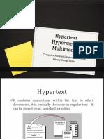 Hypermedia Hypertext and Multimedia