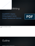 Academic Tasks - Proposal Writing - Presentation