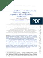 Curso básico de fonética y ortografía para marroquíes