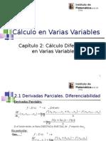 2. Calculo Diferencial en Varias Variables