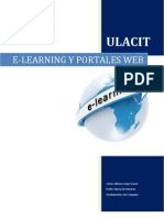 E-Learning y Portales Web