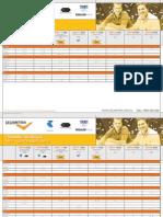 Celemetrix Training Schedule To April 2013